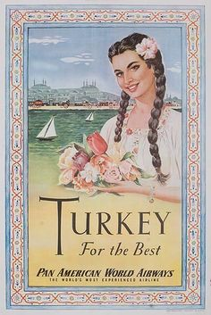 Vintage Travel Posters -TURKEY