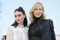 Carol photocall, Cate Blanchett e Rooney Mara