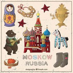 'Moskow Russia' Sticker by cybermall Cultures Du Monde, Russian Wedding, Train Pictures, Unique Trees, Thinking Day, Hand Art, Vintage Children's Books, Projects For Kids, Travel Posters