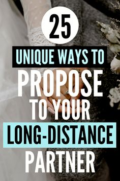 Are you looking for #longdistancerelationship proposal ideas? Check out these 25 funny, romantic and memorable ways to #popthequestion to your long-distance girlfriend or boyfriend!   #proposalideas #howtopropose #longdistancelove #relationshipblogger #longdistancemarriage #tyingtheknot #weddings #longdistancetomarriage #longdistancedating Long Distance Marriage, Long Distance Love, Distance Relationships, Ways To Propose, Proposal Ideas, Marriage Proposals, How To Memorize Things, Boyfriend, Romantic