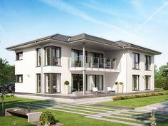 Celebration 282 V4 • Zweifamilienhaus von Bien-Zenker • Modernes Fertighaus mit Walmdach und Platz für 4 Personen pro Wohnung • Jetzt bei Musterhaus.net informieren!