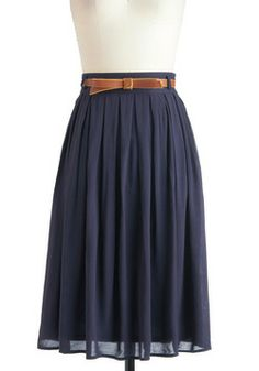 Porch Swing Dance Skirt, #ModCloth