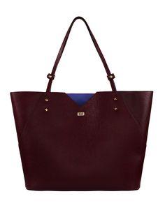 Burgundy Tote Bags Bordeaux Italian Leather Handbags London