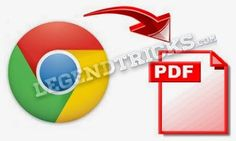 How To Save A Webpage Into A PDF File:-  Sometimes when you are in a browsing the web and you got very urgent call and you are in a hurry burry then though this simple trick you can save that data which you were browsing in a .PDF file in few seconds.. So in this post Im gonna tell you about a simple trick which is How you can Convert Webpage to a PDF File this will save your time and make you feel comfortable..