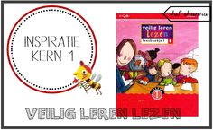 Juf Shanna: Veilig Leren Lezen: Kern 1