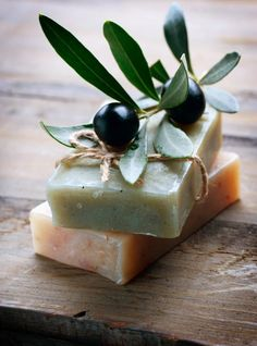 Olive Oil Skin Care, luxurious treats to reinvigorate and refresh along the way … Olive Oil Skin Care, luxurious treats to reinvigorate and refresh along the way Related posts: Best Anti Wrinkle Products Olives, Olive Oil Skin, Olive Oils, Olive Gardens, Olive Tree, Handmade Soaps, Handmade Cosmetics, Soap Making, Along The Way