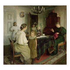 Skagen, A4 Poster, Poster Prints, Victorian Paintings, Scandinavian Art, Sewing Art, Vintage Artwork, Art Plastique, Beautiful Paintings