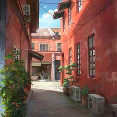 # i l l u s & C G 景色 by Chong Fei Giap