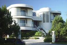 1000 images about homes art deco prairie style modern etc on pinterest art deco house - Deco moderne flat ...