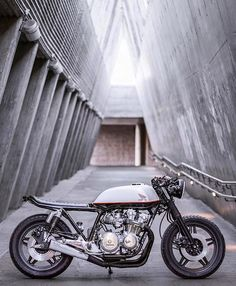 Bike courtesy of @haltbakka. Photo courtesy of @ewlfoto :: Bike - Honda CB750 :: Found via @caferacerandbobbernation :: #honda #suzuki #yamaha #ducati #caferacer #caferacers #classic #croig #caferacersofinstagram #motorcycle #motorcycles #motorbike #vintage #harleydavidson #vintagemotorcycle #bonneville #scrambler #thruxton #moto #oldsoulsandiron #gentleman #caferacerxxx #travel #caferacerporn #adventure #roadtrip  #caferacerculture #bmw #custom