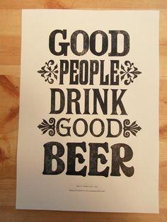 so do bad people drink bad beer?