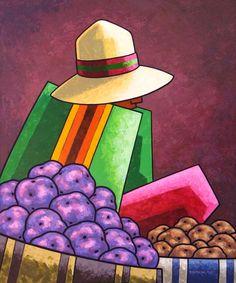 Biografía:  Oscar Tintaya Quispe La Paz Bolivia 1962.  1987-Egresado de la Academia Nacional de Bellas Artes,La Paz  Especialidad:Pint...