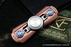 Custom Knife Factory - Pepyakka Spinner