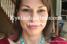 eyelash extension review http://www.jensnyderphoto.com