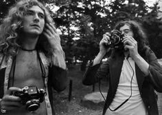Robert Plant & Jimmy Page.