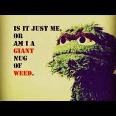Yes, grouch weed.