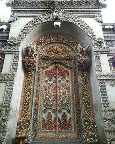 Found this door in Bali, Indonesia.