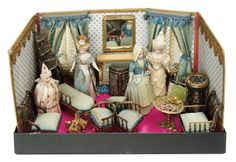 French Miniature Folding Dollh... Auctions Online | Proxibid