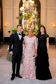 Crown Prince Frederik and Crown Princess Mary of Denmark April 2015