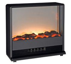 Classic Fire Elektrische sfeerhaard Palermo. Gepatenteerd vuursimulatie systeem met effect van echt kolenvuur.  Werkt met of zonder verwarmingselement.