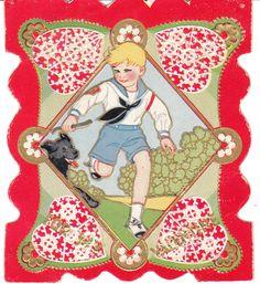 80 Racism and Rude Vintage Valentines Card  Vintage valentines