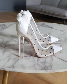 21 Most Wanted Wedding Shoes For Bride & Bridesmaids ❤ wedding shoes simple with high heels pninatornai #weddingforward #wedding #bride