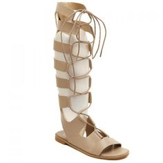 Wholesale Rome Lace-Up and Flat Design Women's Sandals Only $15.33 Drop Shipping | TrendsGal.com