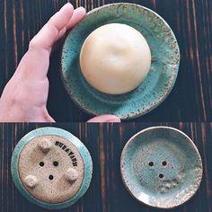 Handbuilt soap dish