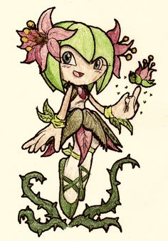 No.26 Cosmo the Seedrian by NextGrandcross.deviantart.com on @deviantART