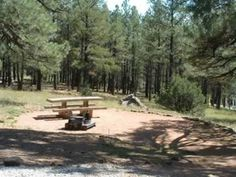 A Campsite At Lake View Campground