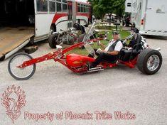 Gallery For > Custom Vw Trikes
