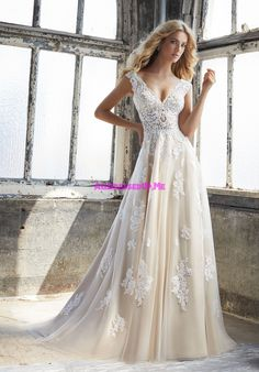 Morilee - 8206 - Kennedy - All Dressed Up, Bridal Gown