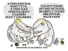 Chargista Cearense Newton Silva: A VOZ DO POVO