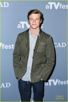 Lucas Till at TVFest 2017 talking about his role as MacGyver