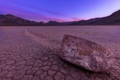 """Racetrack Playa Sailing Stones 