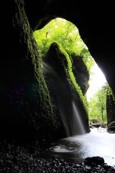 Shiwagara Falls, Hyogo, Japan
