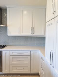 Easy Modern Update For Tired Cabinets. Lowes Kitchen CabinetsBuilt ...