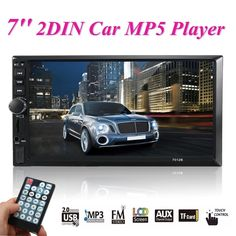 58.96$  Buy now - http://alixd3.worldwells.pw/go.php?t=32757476480 - 2 Din Car Video Player DVD 7 Inch TFT Touch Screen Bluetooth Radio Audio Stereo MP4/MP5 Player Support AUX/FM/USB Remote Control 58.96$