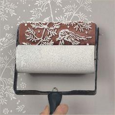 Pintar las paredes con dibujos y texturas