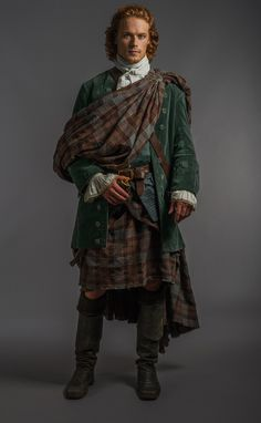 Promotional Still from Outlander Episode 7- The Wedding. Sam Heughan as James Alexander Malcolm Mackenzie Fraser.