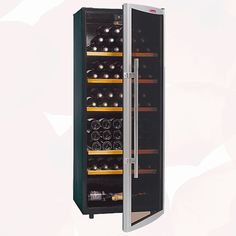 Wine Cooler 120 bottles is a modern unit to display wine professionally. Beneficiate from low rental prices and lots of offers and discounts with Wine Rack, Locker Storage, Wine Coolers, Modern, Bottles, Furniture, Home Decor, Self, Wine Chiller
