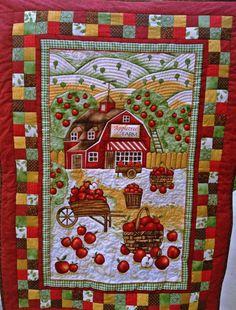 Vintage 1920-1940 BLUE & White QUILT Fabulous Pattern Nvr Used 80 ... : farm quilt patterns - Adamdwight.com
