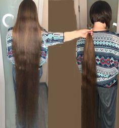 Long Hair Ponytail, Ponytail Hairstyles, Long Haircuts, Short Haircut, Long Hair Cut Short, Rapunzel Hair, Super Long Hair, Beautiful Long Hair, Hair Lengths