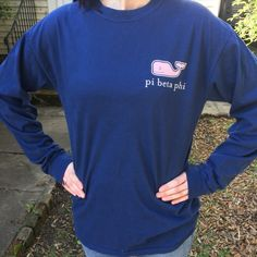 Vineyard Vines Sorority Comfort Colors Long by CampusConnection