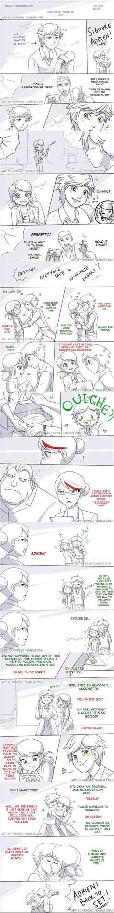 Marinette and adrien Comics Ladybug, Meraculous Ladybug, Bugaboo, Lady Bug, Photo Manga, Ladybug Und Cat Noir, Marinette Et Adrien, Kevedd, Catty Noir