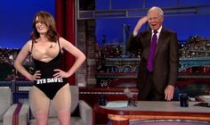 Why Tina Fey Took Her Dress Off For Letterman In Front Of The Mass Media!!!