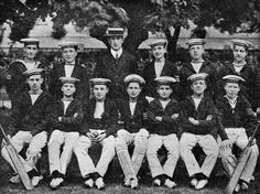 Royal Museums Greenwich-School cricket team 1913   Flickr - Photo Sharing!