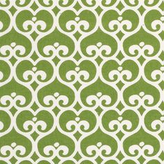 Love to recover my dining room chairs in this fabric... Clover Spade Fabric by the Yard