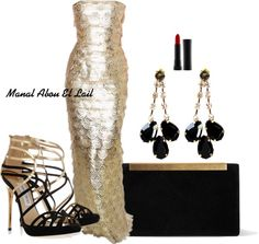 A fashion look from March 2013 featuring black heeled sandals, man bag and tear drop earrings. Browse and shop related looks. Lexi Taylor, Party Dress Outfits, Teardrop Earrings, Affair, Fashion Looks, Gowns, Formal Dresses, Book, Makeup