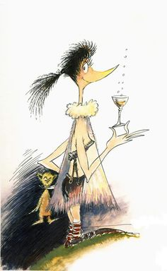 Martini Bird, Dr. Seuss I missed opp to buy years ago....oh the things I will regret